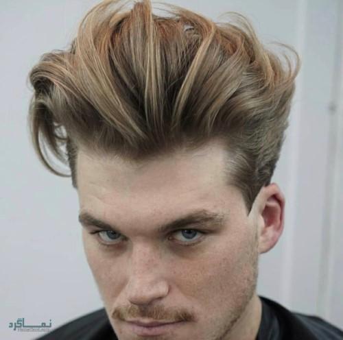مدل مو مردانه شیک و ساده