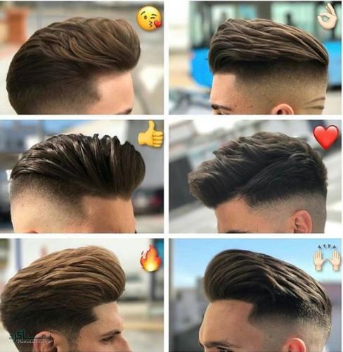 مدل های موی مردانه سنگین