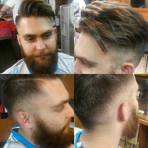 مدل های موی مردانه ساده جدید
