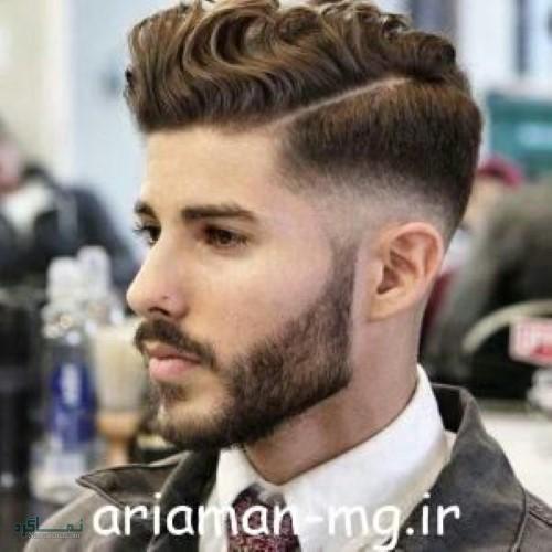 مدل مو های مردانه زیبا و سنگین