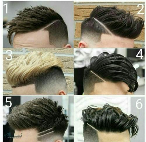 مدل مو مردانه زیبا و جذاب