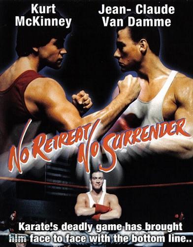 دوبله فارسی فیلم سینمایی No Retreat No Surrender 1986