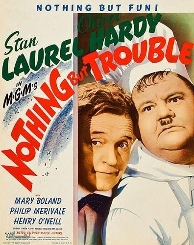 دانلود رایگان دوبله فارسی فیلم کمدی Nothing But Trouble 1944