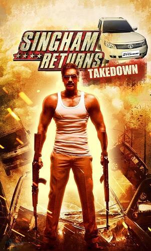 دوبله فارسی فیلم هندی بازگشت سینگام Singham Returns 2014