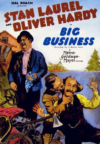 دانلود رایگان دوبله فارسی فیلم کمدی Big Business 1929
