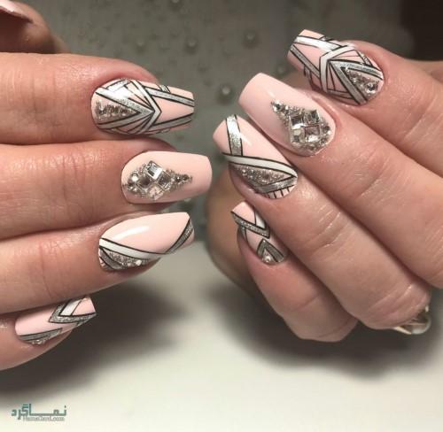 دیزاین ناخن های زیبای جذاب
