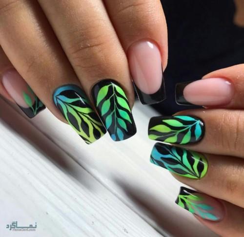 دیزاین ناخن های زیبا قشنگ
