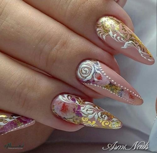 دیزاین ناخن های شیک و زیبا