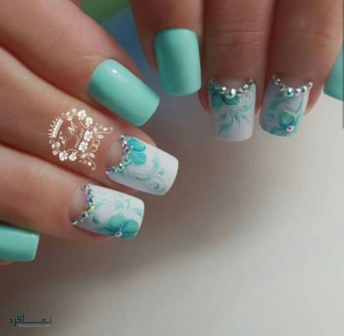 دیزاین ناخن های زیبا جذاب