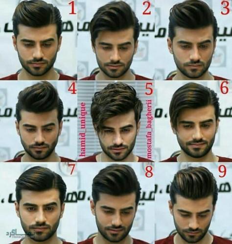 مدل مو های مردانه جدید