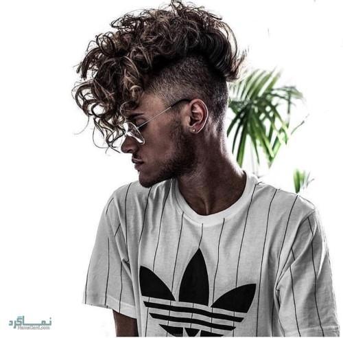 مدل مو ی پسرانه متفاوت