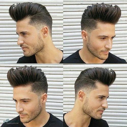 مدل موی پسرانه جدید شاخ