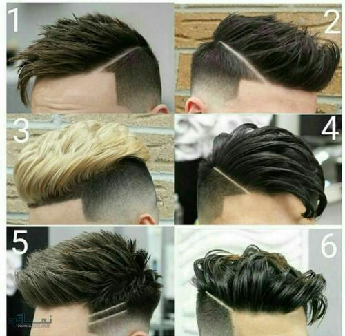 مدل مو های پسرانه متفاوت