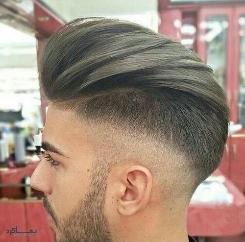 مو های مردانه کلاسیک متفاوت