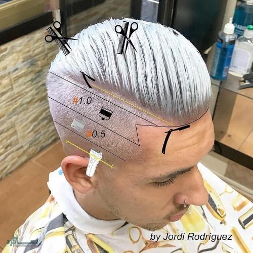 مو های مردانه کلاسیک شیک