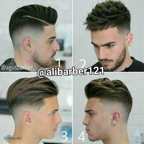 مدل مو های مردانه کلاسیک قشنگ
