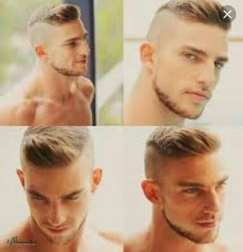 مو های مردانه کلاسیک خاص