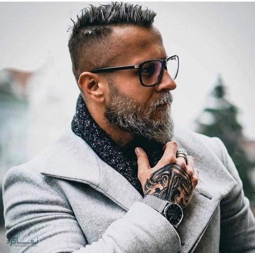مدل مو مردانه کلاسیک بلند