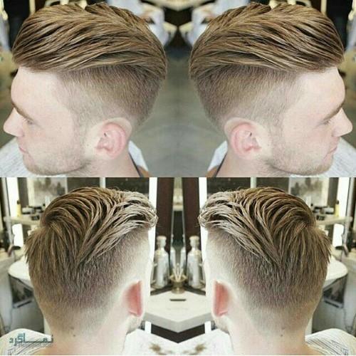 مدل مو های مردانه لاکچری شیک