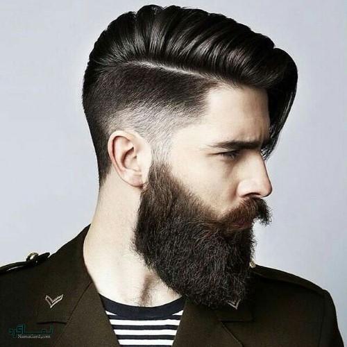 مدل مو های مردانه لاکچری شاخ