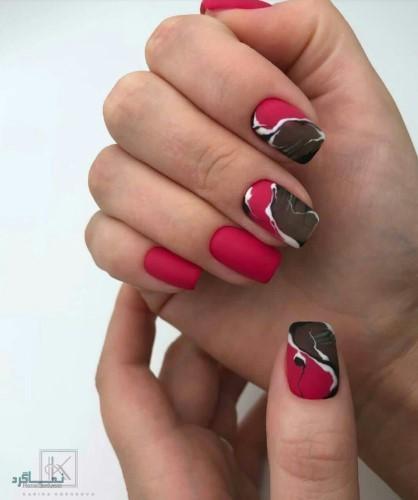 مدل ناخن های اینستاگرام جذاب
