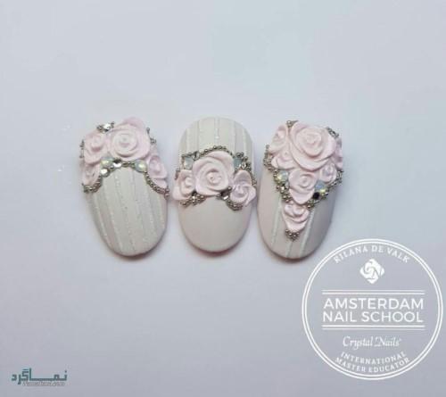 مدل ناخن های عروس متفاوت