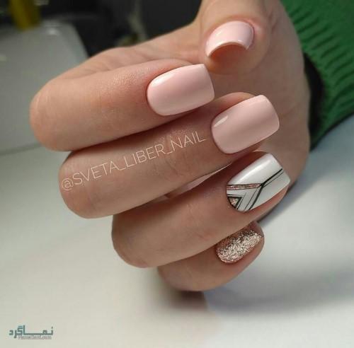مدل ناخن های اینستاگرام زیبا