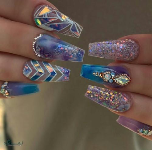 قشنگ ترین ناخن های جدید