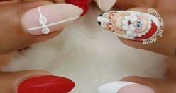 مدل لاک ناخن قشنگ + مدل های باکلاس ناخن قشنگ شاخ (۵)