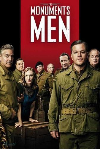 دانلود رایگان دوبله فارسی فیلم The Monuments Men 2014
