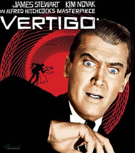 دانلود رایگان دوبله فارسی فیلم سرگیجه با کیفیت عالی Vertigo 1958
