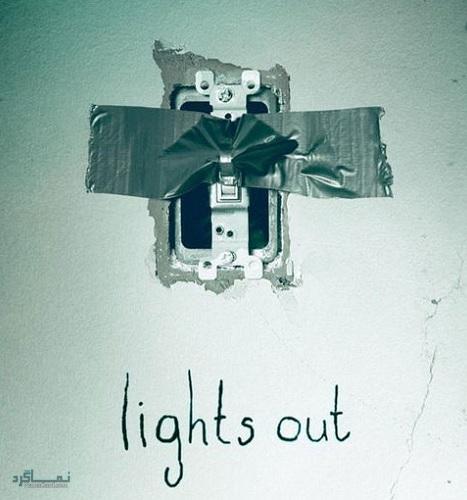 دانلود رایگان دوبله فارسی فیلم ترسناک خاموشی Lights Out 2016
