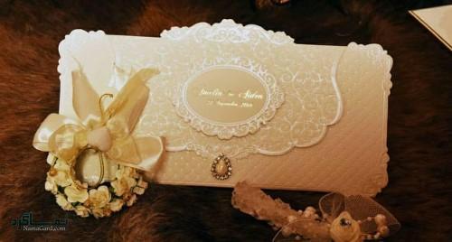 مدل کارت های عروسی شیک جدید