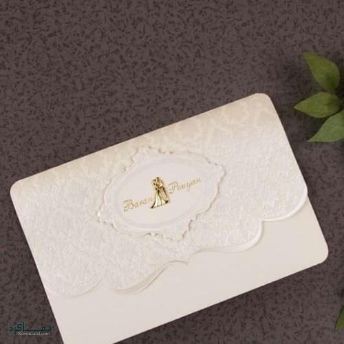 مدل کارت های عروسی شیک و متفاوت
