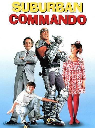 دانلود رایگان دوبله فارسی فیلم Suburban Commando 1991