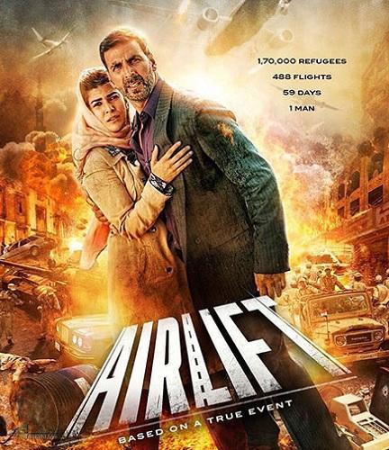 دانلود رایگان دوبله فارسی فیلم هندی هوابرد Airlift 2016