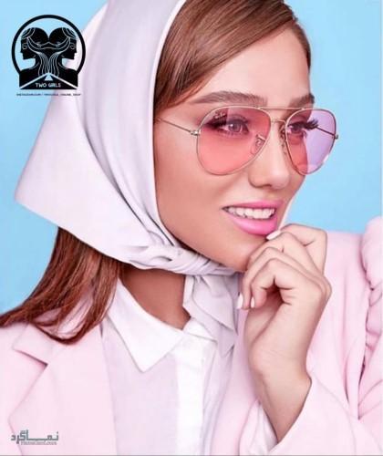 عکس عینک های افتابی دخترانه شیک جذاب