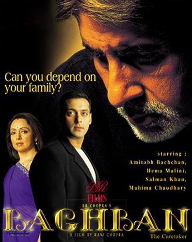 دانلود رایگان دوبله فارسی فیلم هندی باغبان Baghban 2003