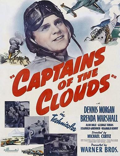 دانلود رایگان دوبله فارسی فیلم Captains of the Clouds 1942