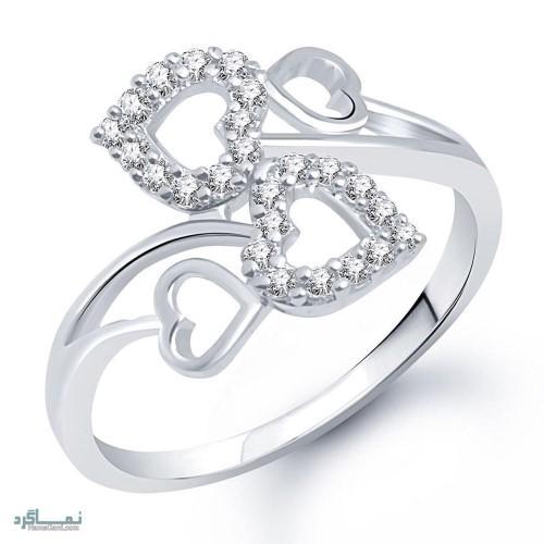 مدل انگشتر جواهر جدید
