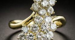 مدل جواهرات جدید و شیک + مدل انگشتر و گردنبند لوکس ۲۰۲۱