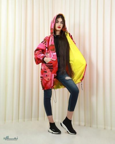 مدل مانتو های لاکچری دخترانه شاد