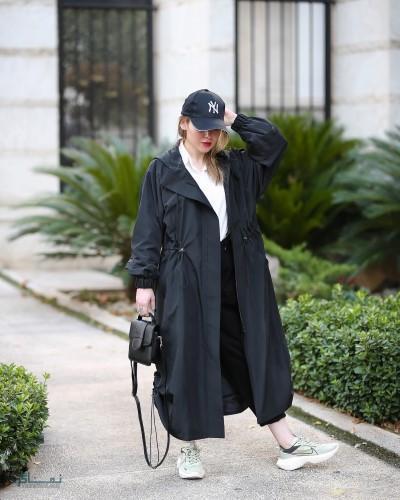 مدل مانتو های اسپرت بلند زیبا