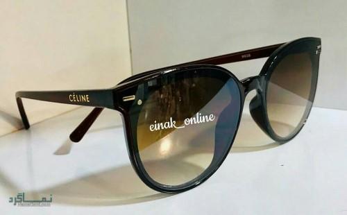 عینک های افتابی رنگی جدید شیک