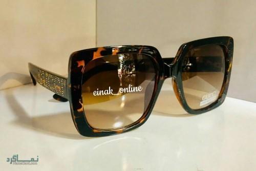 عینک های افتابی رنگی جذاب