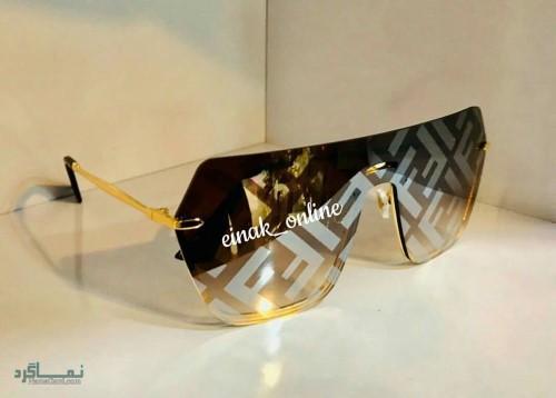 عینک های افتابی رنگی شیک