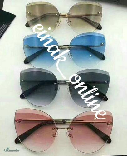 عینک های افتابی رنگی زیبا