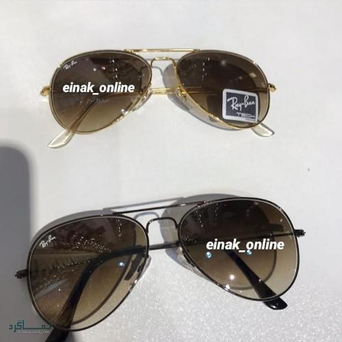 عینک های افتابی رنگی متفاوت