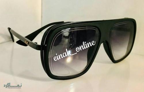 عینک افتابی رنگی