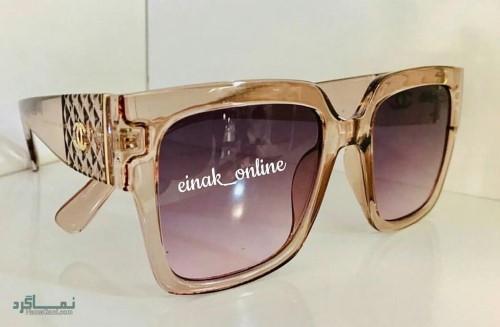 عینک افتابی رنگی زنانه